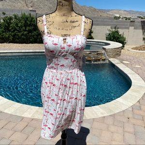 NWT Flamingo Dress